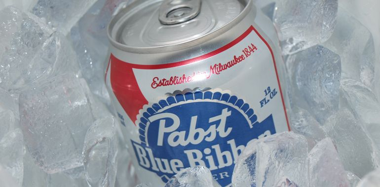 Pabst Blue Ribbon  Pabst Blue Ribbon On Ice